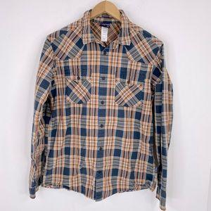 Patagonia Plaid Button Down Shirt